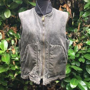 Carhartt black vest.   Size large
